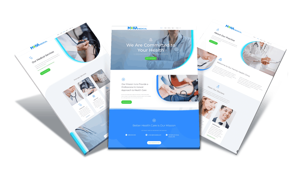 Moka Labs - Medical Health, Physicians, Dental Websites