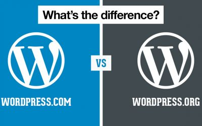 What is the difference between WordPress dot Com vs Org?